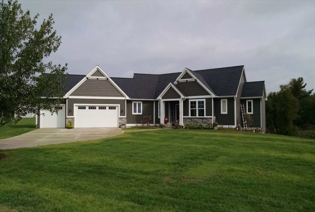 custom home in caledonia