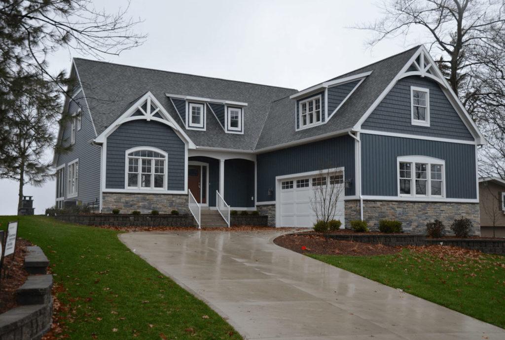 sherwood gun lake custom home